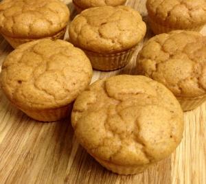 butternut protein muffins