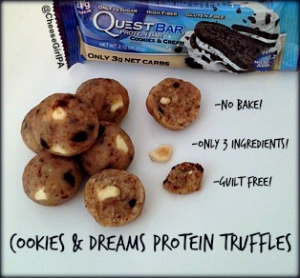 Get the recipe by clicking the photo here: http://proteinpow.com/2014/09/the-2014-invention-box-competition.html