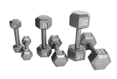 hex weights